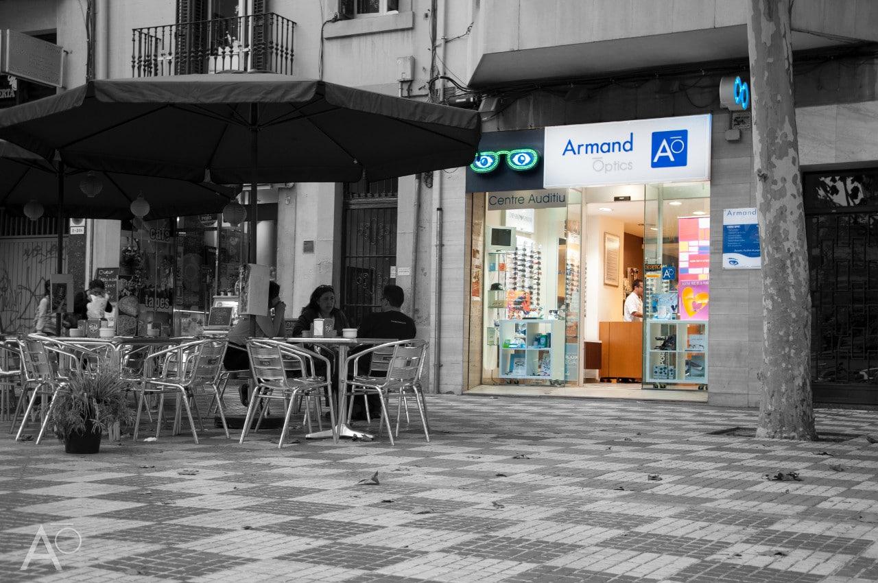 Armand Optics de plaça del centre